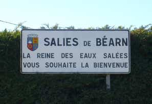 Welcome to Salies de Bearn in south west France